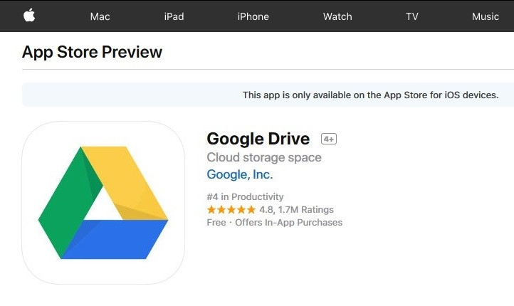download google photos app from ios store
