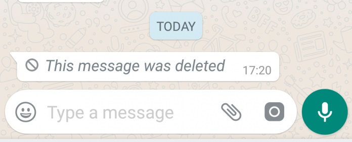 read deleted messages on whatsapp 1