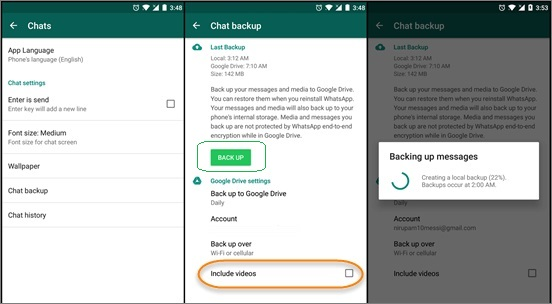 read whatsapp backup google drive 3