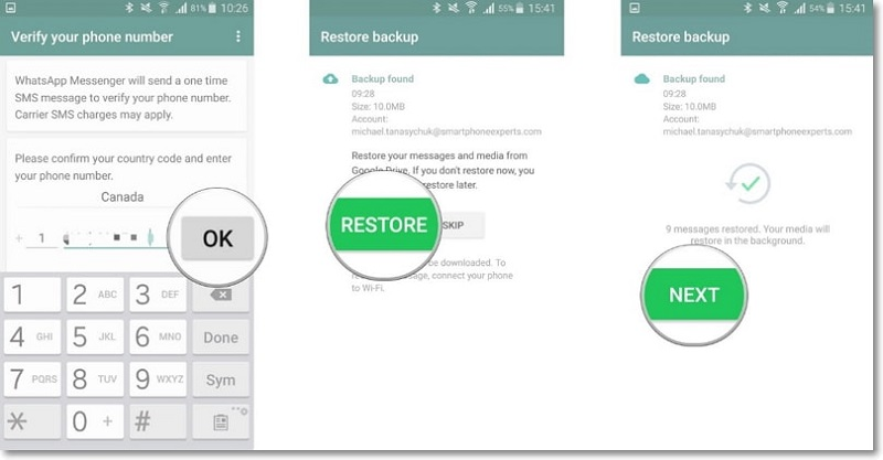 read whatsapp backup google drive 4