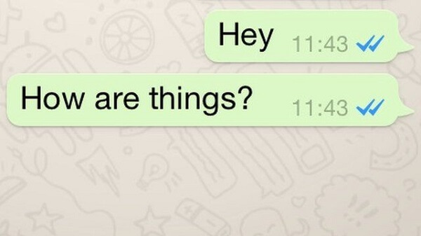 remova marcas azuis no Whatsapp 1