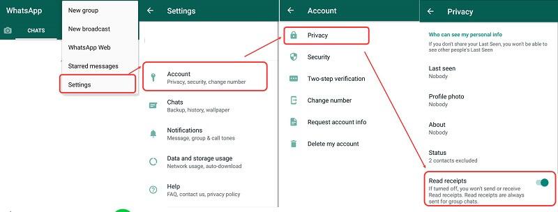 remove blue ticks in whatsapp 4