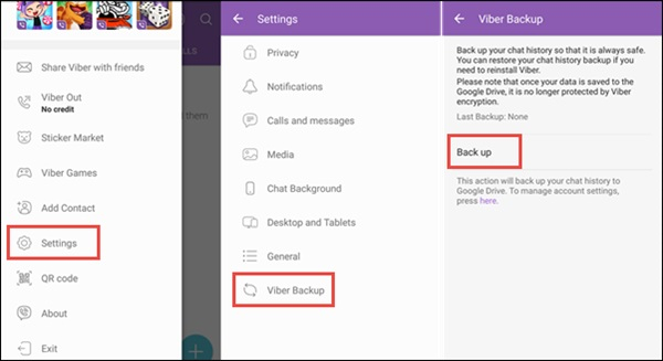 restore deleted viber messages for android 1