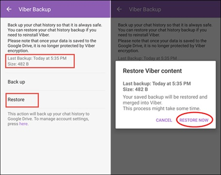 restore deleted viber messages for android 2