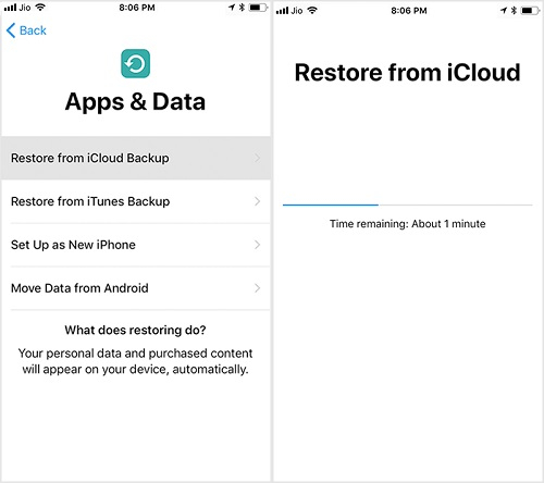 restore ipad from iphone backup 6