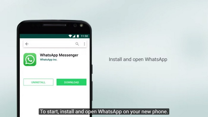 Restaurando o backup do WhatsApp