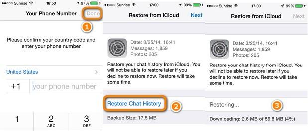 restore whatsapp business backup 2