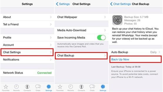 restore whatsapp business backup 3