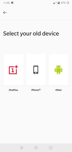 samsung to oneplus data transfer 2