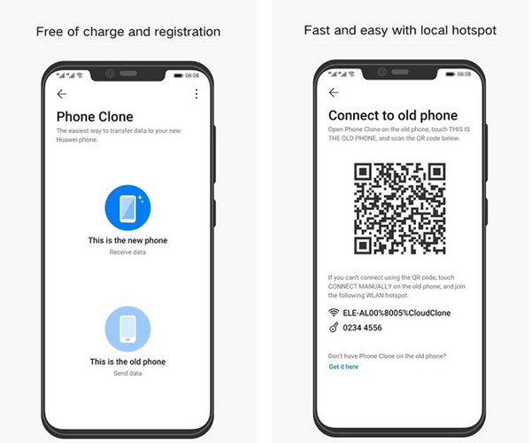 Phone Clone - Escanear código 01