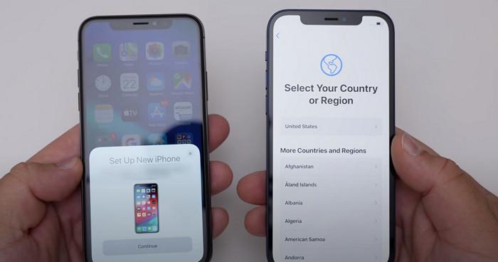 select destination iPhone