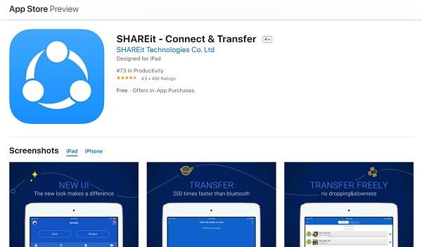 shareit app review 2