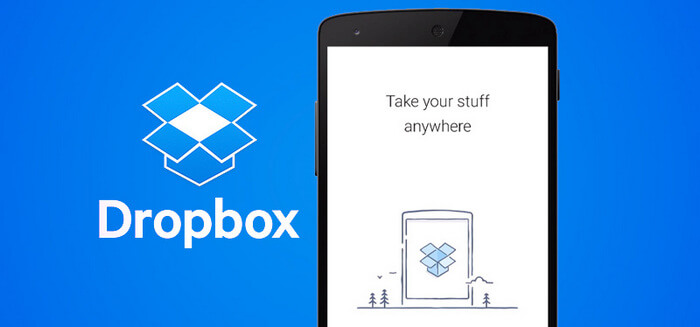application de transfert d'iphone vers android-DropBox