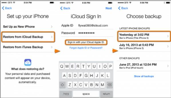 apps transfert d'icloud 02