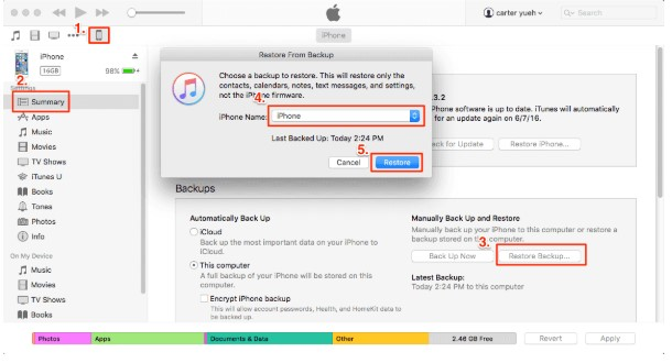 transfer apps itunes 02