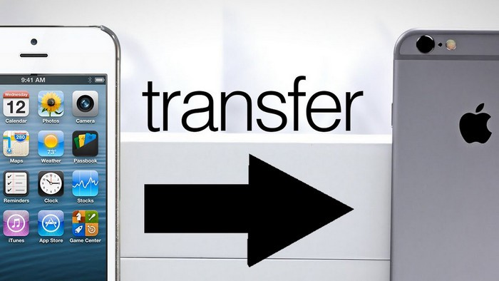 transférer des applications vers un nouvel iphone