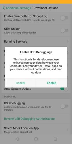 12 نقل التطبيقات إلى بطاقة التخزين الخارجية على هاتف Oppo A3s