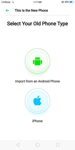 transfer data from iphone to oppo 06
