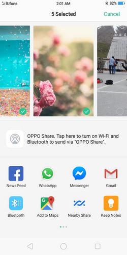 transfer data from oppo to vivo 9
