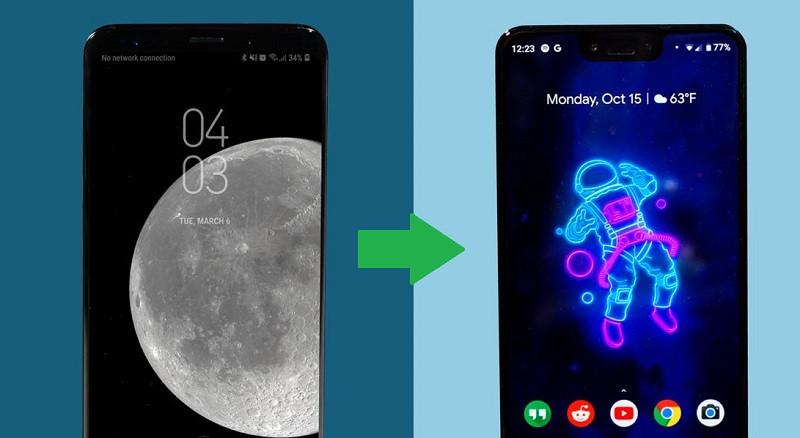 Daten von Pixel auf Samsung übertragen 1