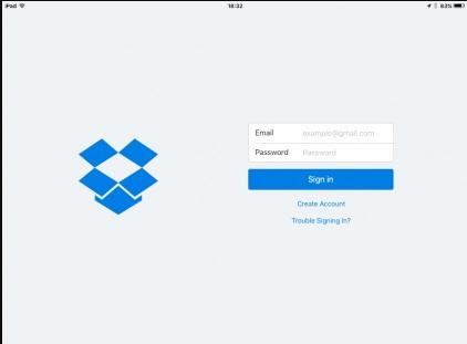 export files iCloud
