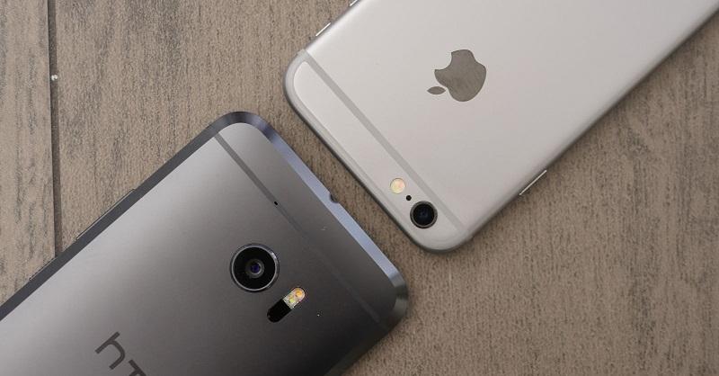 2 Maneiras fáceis de transferir dados do HTC para o iPhone