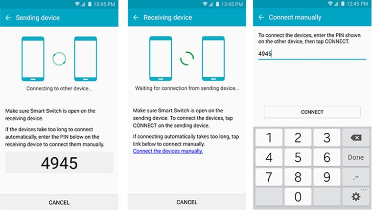 transferir de HTC a Samsung S20 3