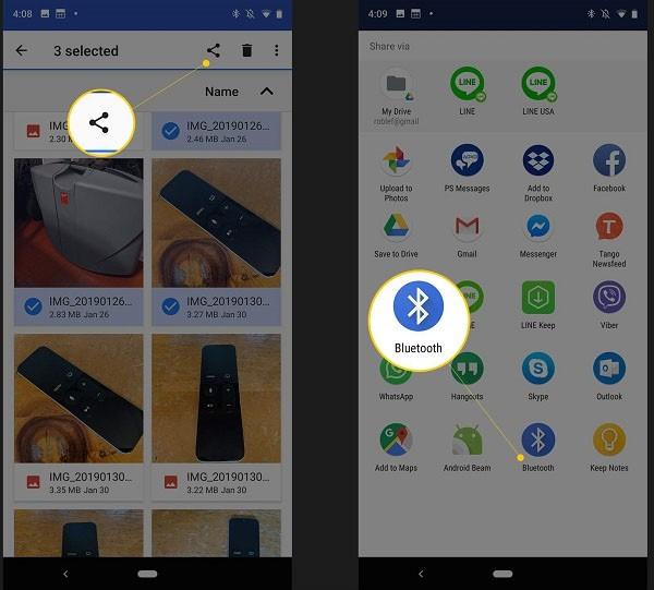 transferir de HTC a Samsung S20 8