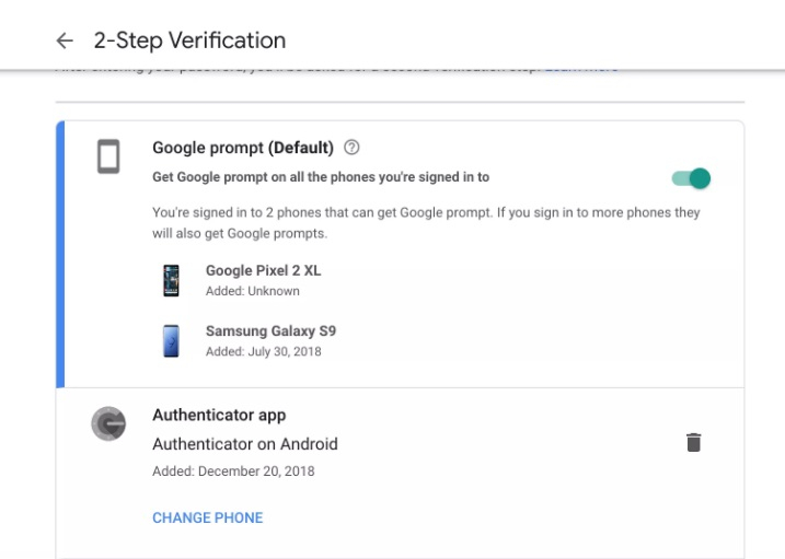 transfer google authenticator to iphone 4