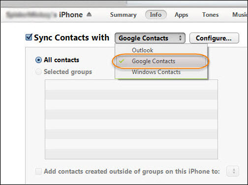 transfer-google-contacts-itunes
