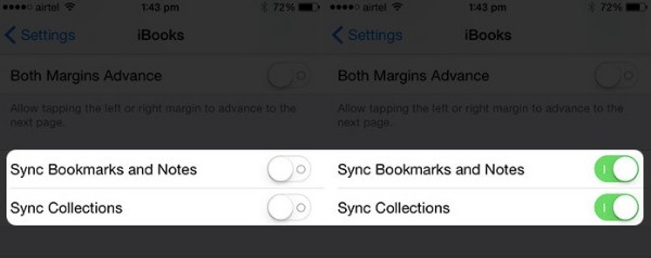 Syncing iBooks