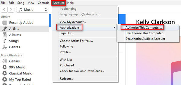 transfer itunes library computer 8