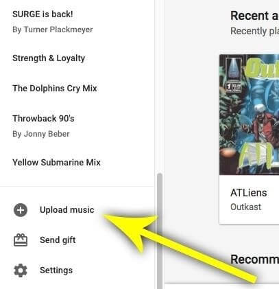 transfer itunes to google play music 5