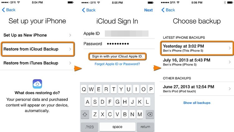 transfer messages from iphone to iphone 04