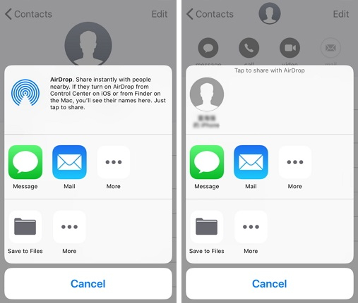 transférer messages depuis iphone vers iphone