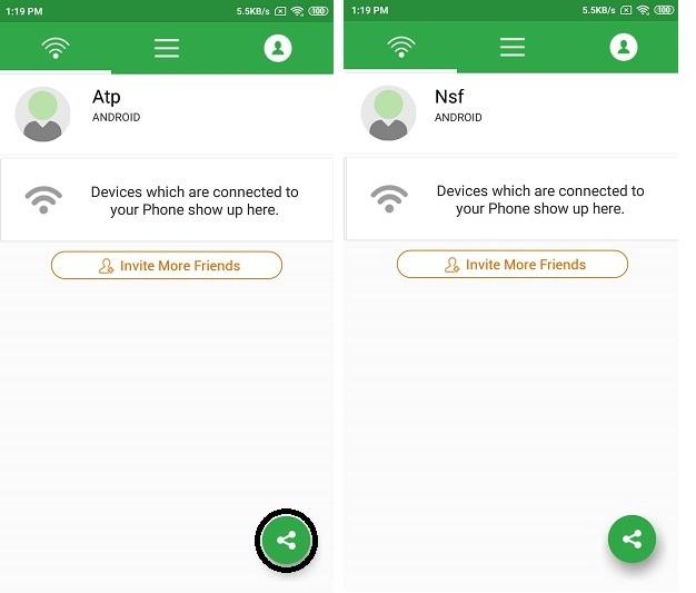transférer de la musique d'un android vers un android par liwiapp 2