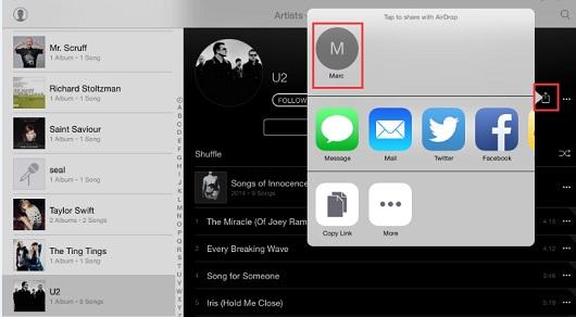 transfer music ipad to ipod 4