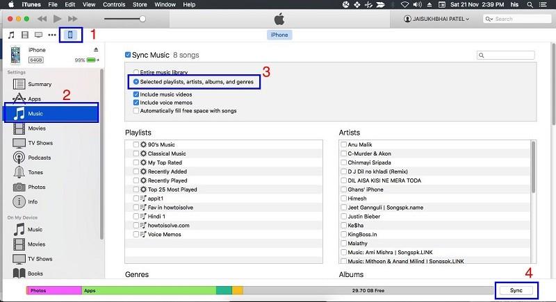 Musik von ipad auf ipod übertragen 6