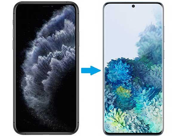 4 Métodos para Transferir Fotos de iPhone para Samsung S20