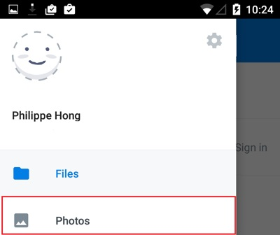 transférer des photos de l'ipad vers android