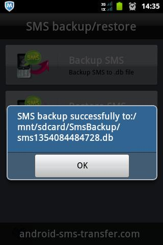 transfer sms from android to android-know about backup