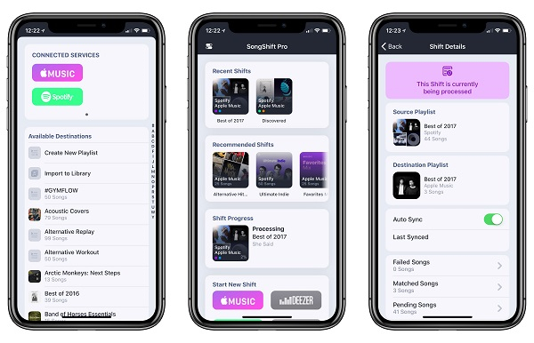 transfer spotify playlists to apple music 2