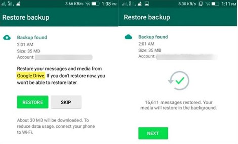 transfer whatsapp google drive 01