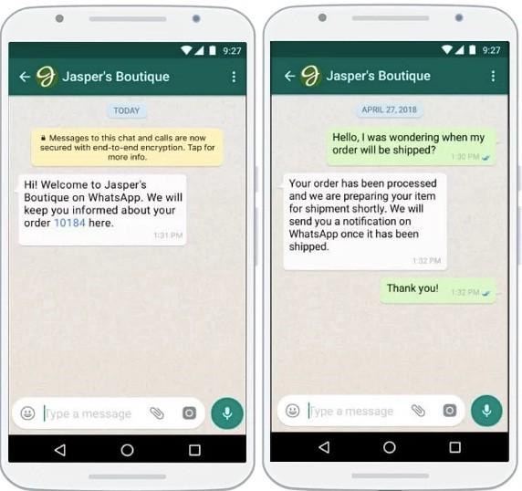 whatsapp business auto reply 7