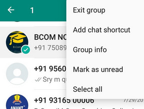 whatsapp clear chat vs delete chat 2
