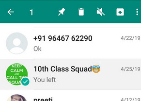 whatsapp clear chat vs delete chat 3