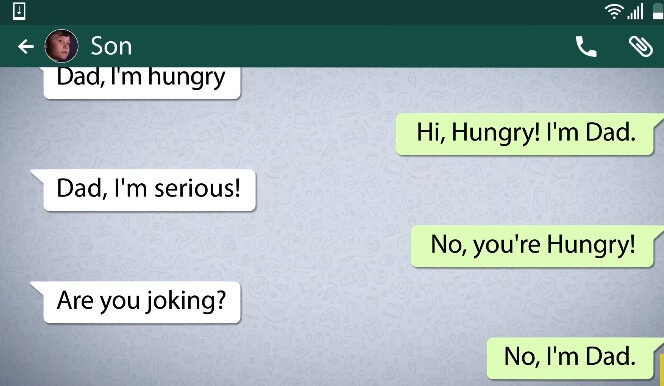 whatsapp pranks messages 11
