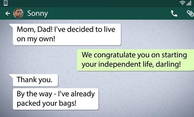 whatsapp pranks messages 6