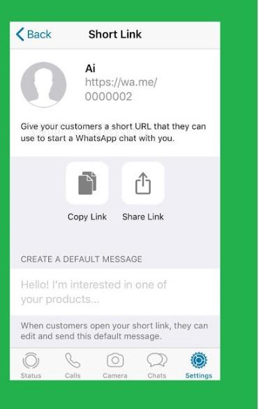 whatsapp short link generator 11