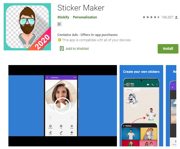 Sticker maker by Stickify
